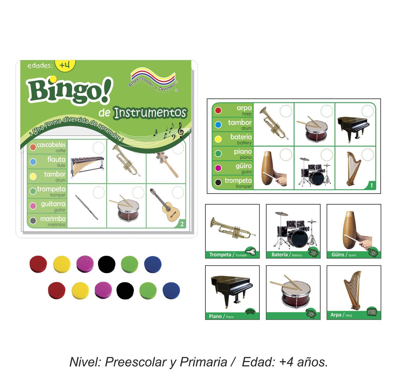 Bingo de Instrumentos