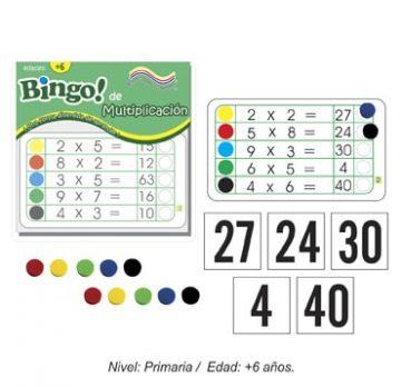 Bingo de la Multiplicación