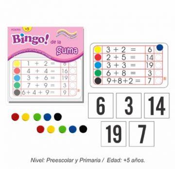 Bingo de la Suma