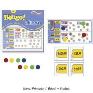 Bingo del Dinero con 12 Tableros