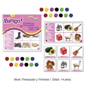 Bingo de Palabra-Imagen con 24 tableros