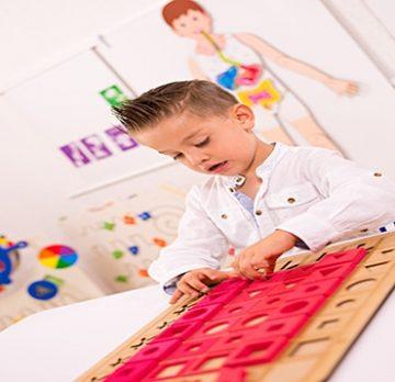 Bloques Lógicos para Alumnos con Discapacidad Visual para Niños