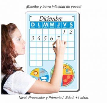 Calendario Pintarrón