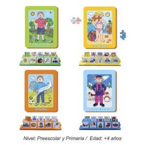 Las Estaciones para Preescolar y Primaria