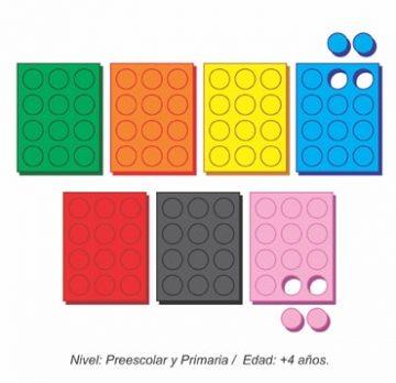 Fichas de Colores para Bingos