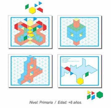 Hojas de Actividades para Rompecabezas Hexagonal