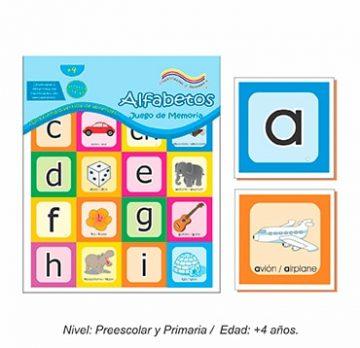 Juego de Memoria de Alfabetos