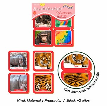 juego-de-memoria-de-animales-de-la-selva