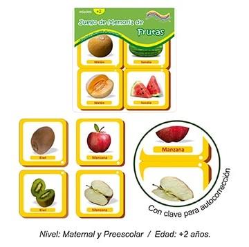 Juego de Memoria de Frutas
