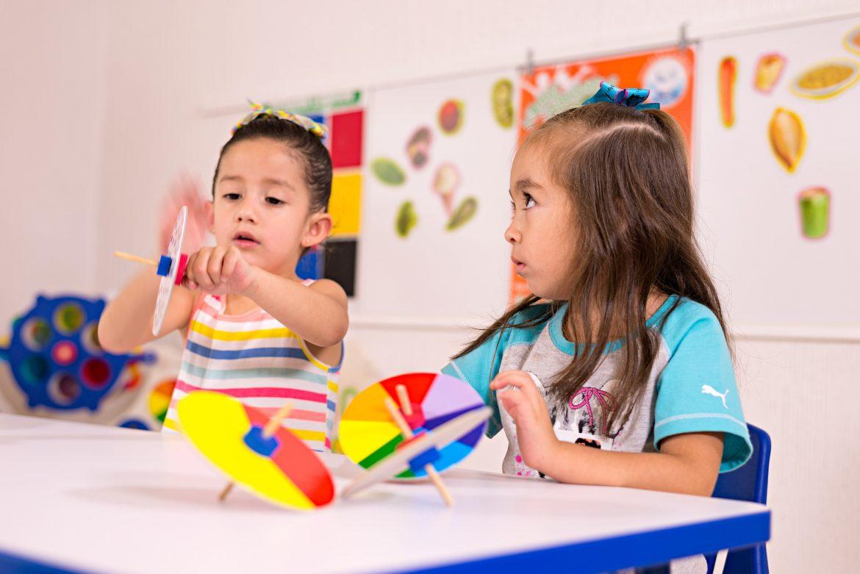 Material Luz y Color niños