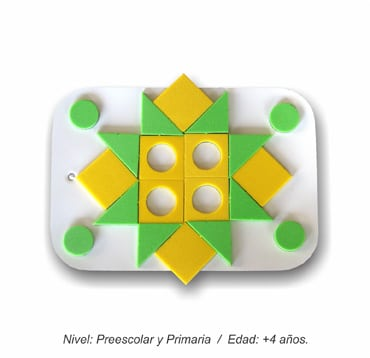 Mini Rompecabezas Geométrico