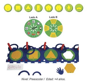 Módulo de Figuras Geométricas Preescolar
