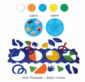 Módulo de Fracciones Preescolar en Movimiento
