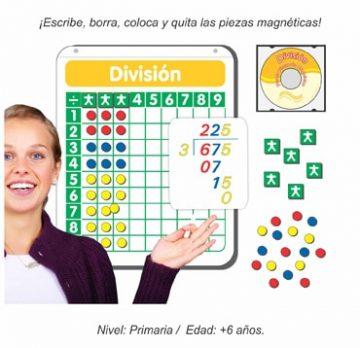 Póster Pintarrón Interactivo de División Magnético para Grupo
