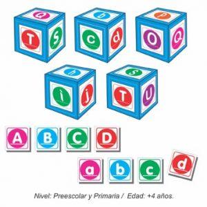 Set de Dados con Alfabeto