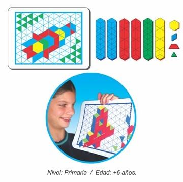 Tablero de Rompecabezas Hexagonal Magnético